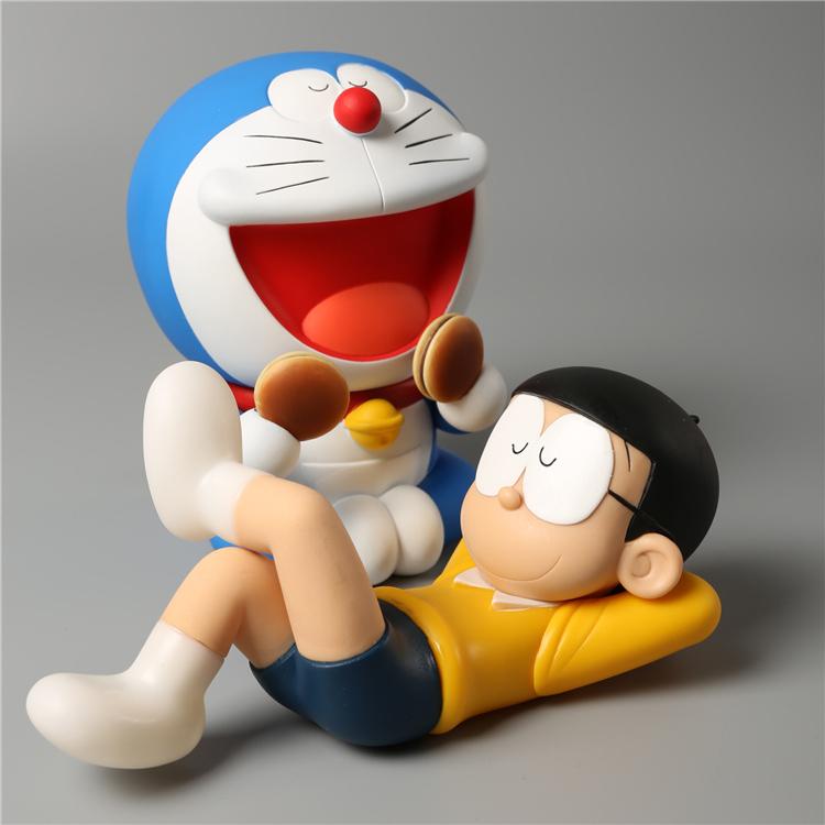 搪胶公仔批�_哆啦A梦动漫手办定做_搪胶公仔-塑胶玩具生产厂家-艺貝玩具